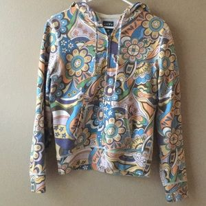 Lucky Brand Psychedelic Hoodie